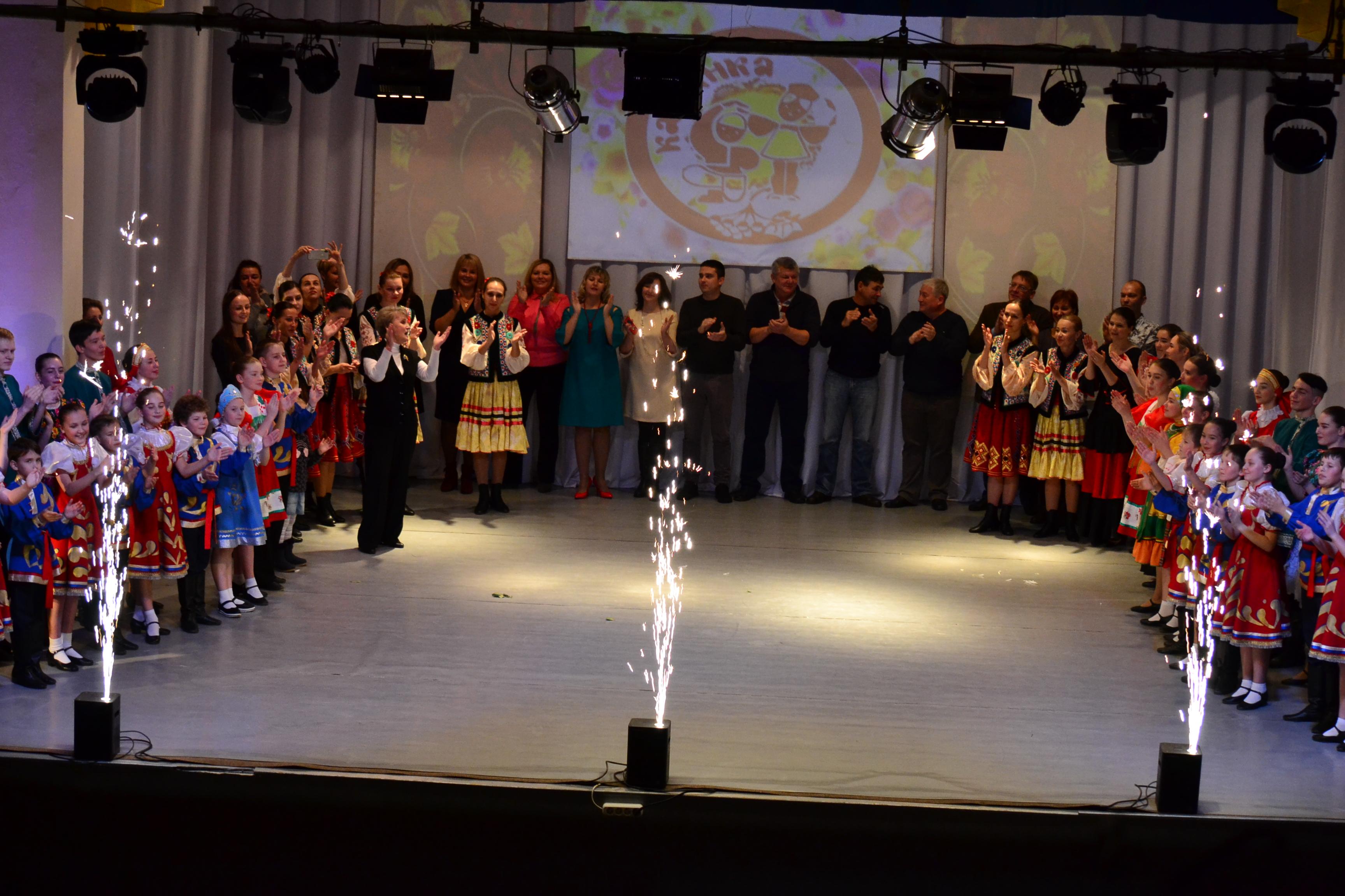 """DSC 9238 - Юбилейный праздничный концерт """"Калинки"""""""